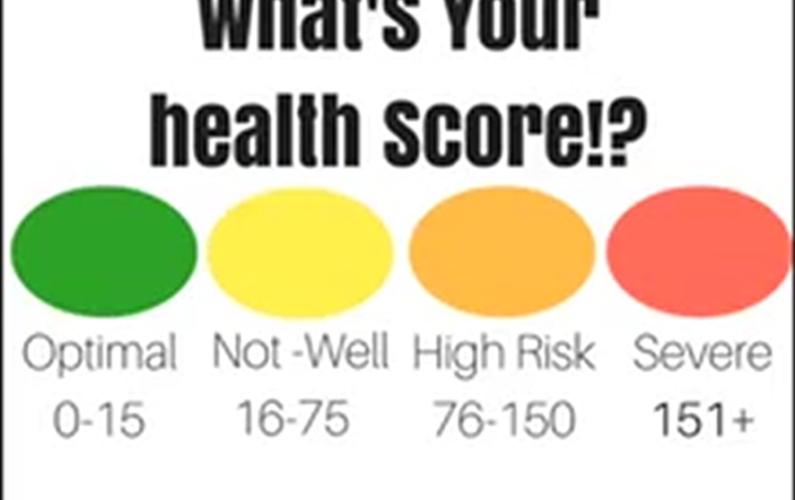 Medical Symptoms questionnaire