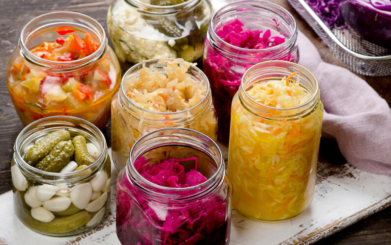 Fermented foods for microbiome health