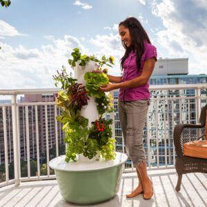 Vertical Gardening with the Tower Garden