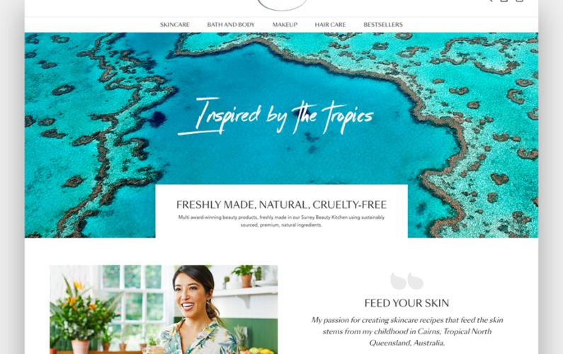 Tropic fresh made natural cruelty free