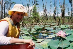 Simone Buehner in Malaysia Rainforest