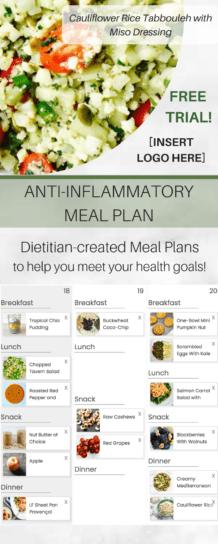 customaisable autoimmune diet plan